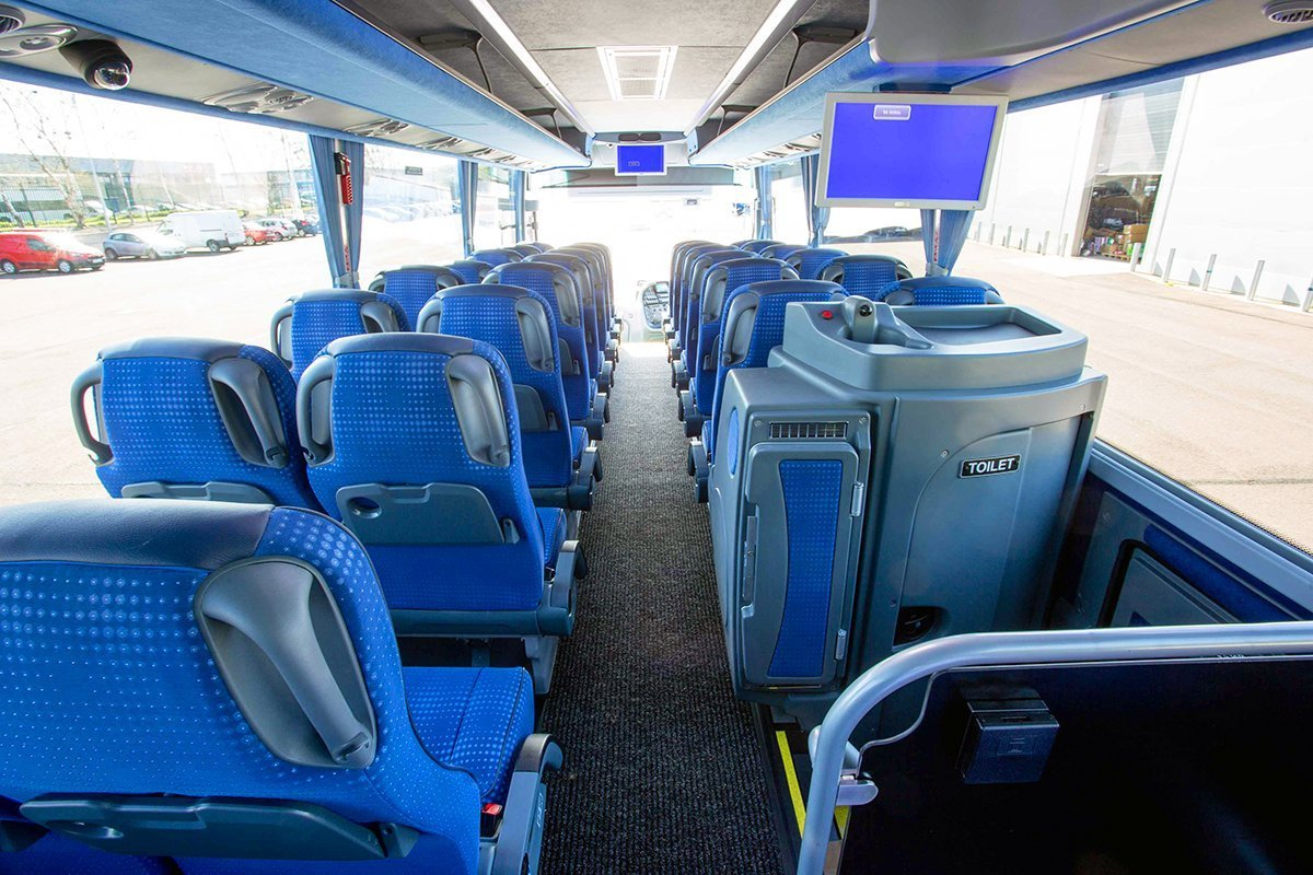Fleet - Executive Luxury Volvo Coach 2