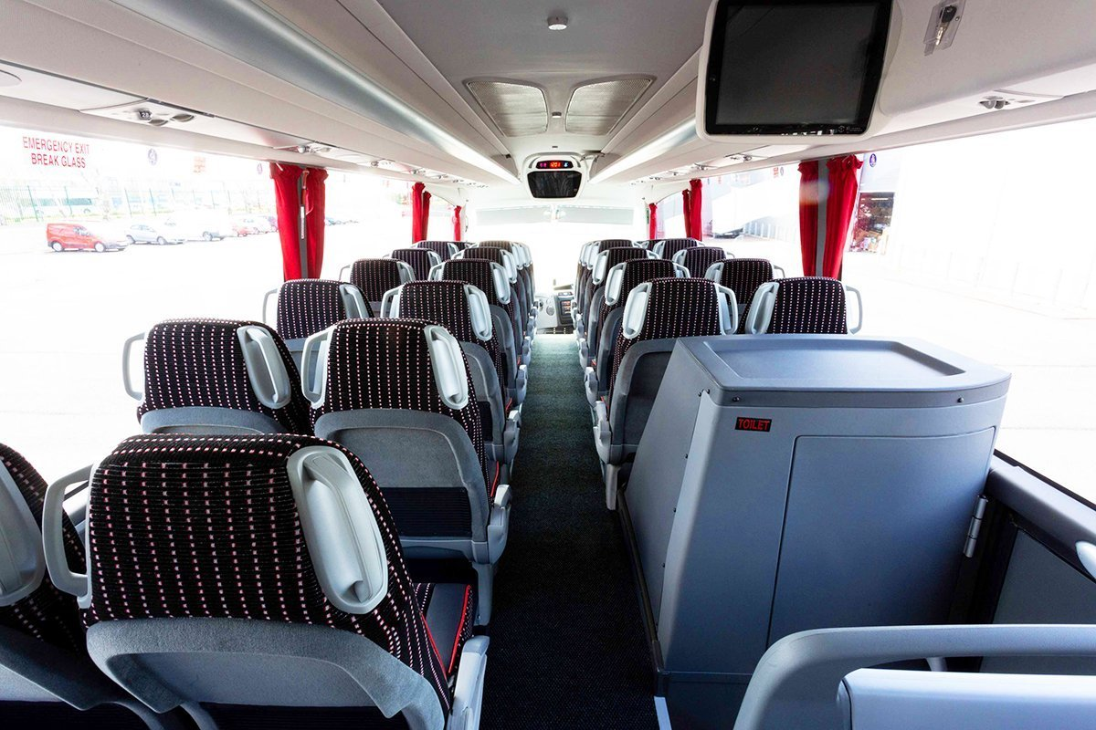 Fleet - Executive Scania Luxury Touring Coach 2