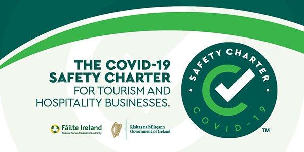 Kearneys of Cork - Failte Ireland Safety Charter